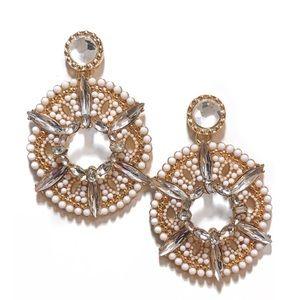 Jewelry - Rhinestone Statement Earrings